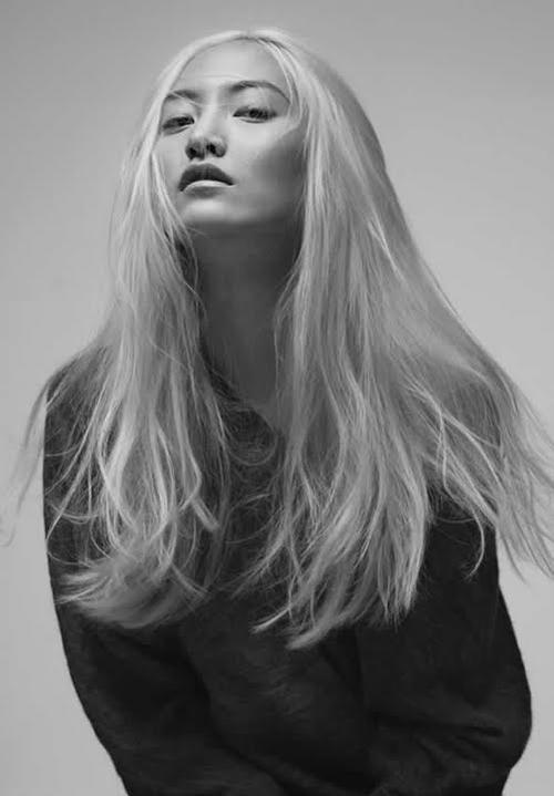 Daul Kim, Golden Haired Asian Beauty
